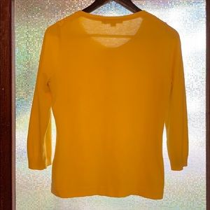 Boden Sweaters - Boden yellow cardigan size 10